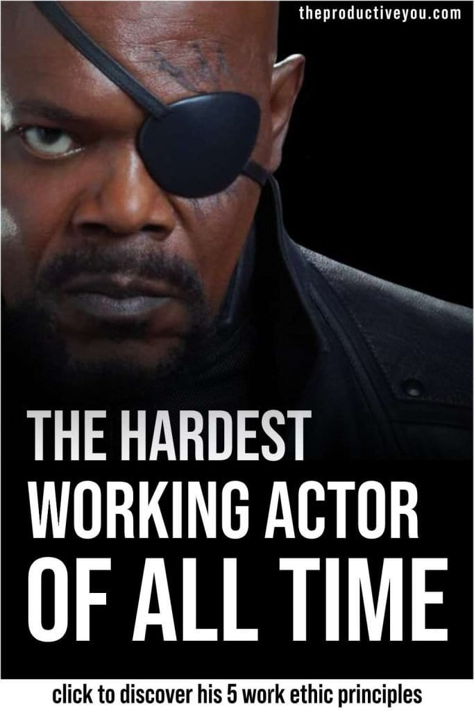 samuel l jackson the hardest working actor of all time
