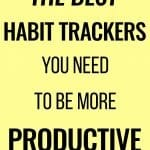 the best habit trackers