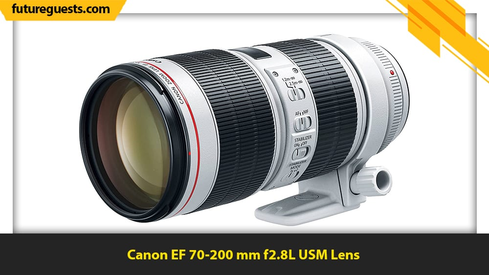 best lenses for sports photography Canon EF 70-200 mm f2.8L USM Lens
