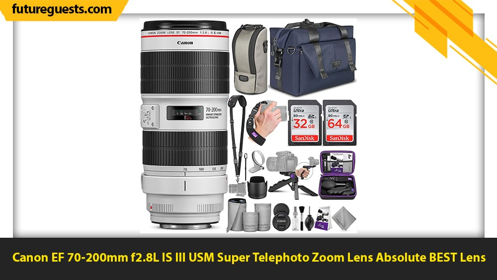 best lenses for car photography Canon EF 70-200mm f2.8L IS III USM Super Telephoto Zoom Lens