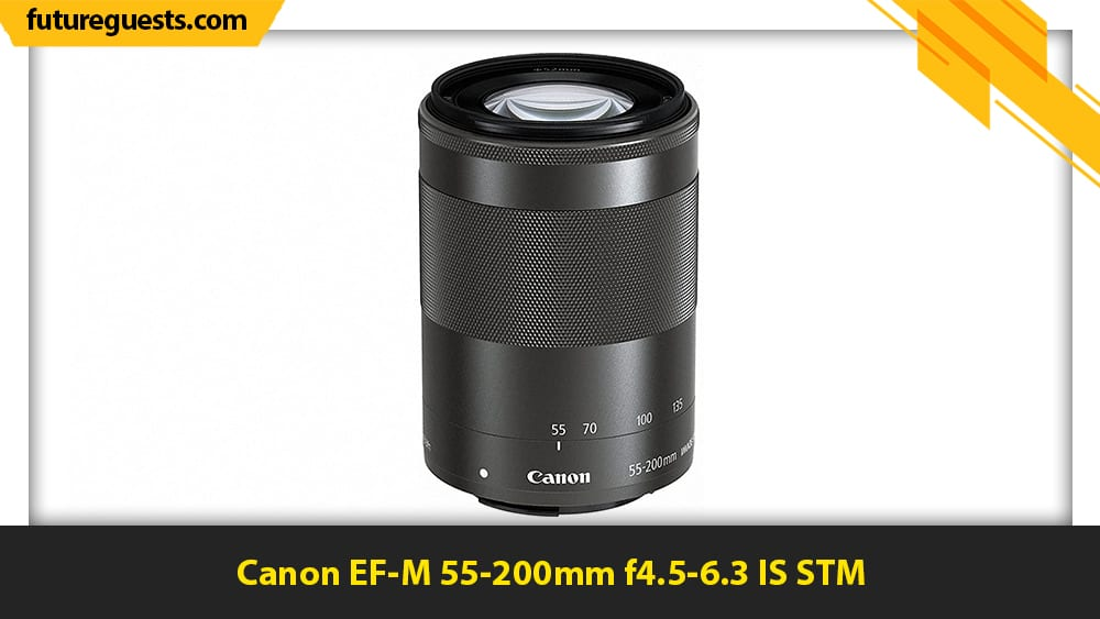 best lenses for canon eos m200 Canon EF-M 55-200mm f4.5-6.3 IS STM