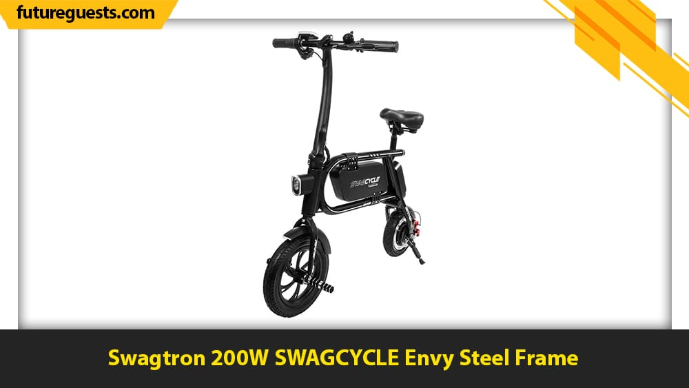 best electric scooters for climbing hills Swagtron 200W SWAGCYCLE Envy Steel Frame