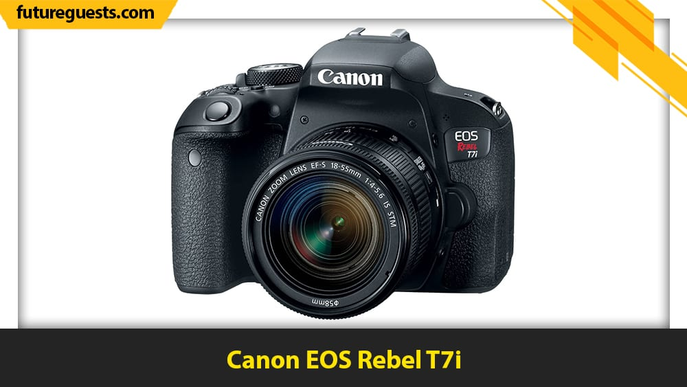best video camera for musicians Canon EOS Rebel T7i