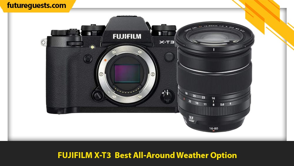 best cameras for car photography FUJIFILM X-T3