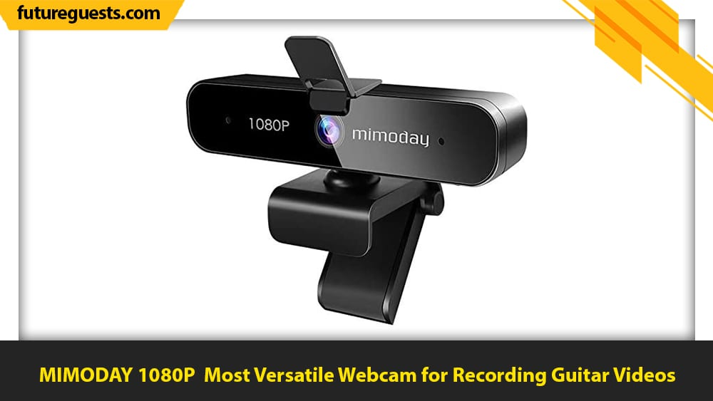 best cameras for recording guitar videos MIMODAY 1080P