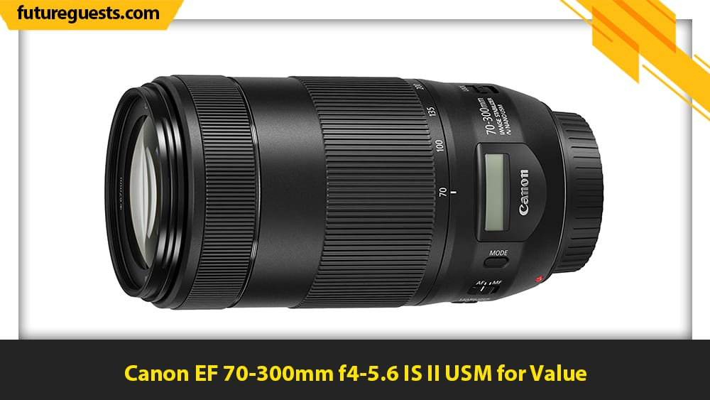 best lenses for canon eos r5 Canon EF 70-300mm f4-5.6 IS II USM