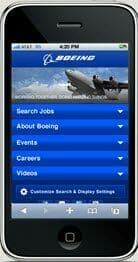boeing mobile site