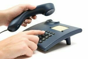 Picking up the phone to cold call