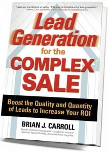 Lead Generation for the Complex Sale cover