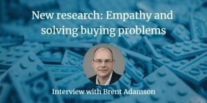 Empathy and buying problems