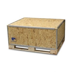 48x40x24 Wood Shipping Crate • ISPM-15 Certified - SharkCrates