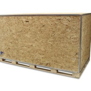96x48x54 Wood Shipping Crate • ISPM-15 Certified - SharkCrates
