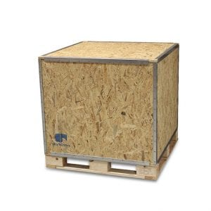36x36x36 Wood Shipping Crate • ISPM-15 Certified - SharkCrates