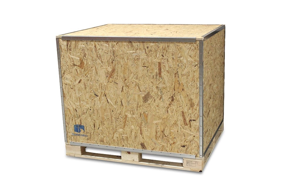 48x48x48 Wood Shipping Crate • ISPM-15 Certified - SharkCrates