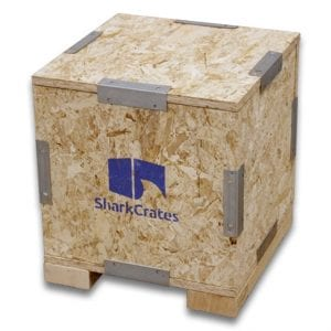 Wood Shipping Crate - Export Ready