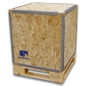 Wood Shipping Crate 24 x 24 x 24