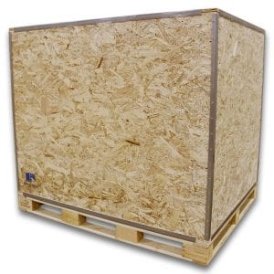 Wood Shipping Crate Large 60 x 48 x 54